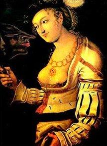 Pistis Sophia et son masque