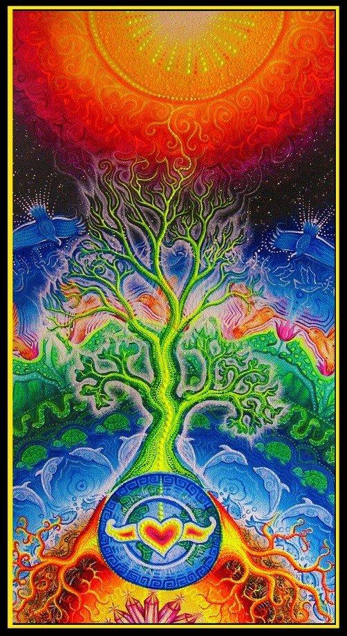 8) Voyage Shamanique  dans (A)-Shamanisme arbre110